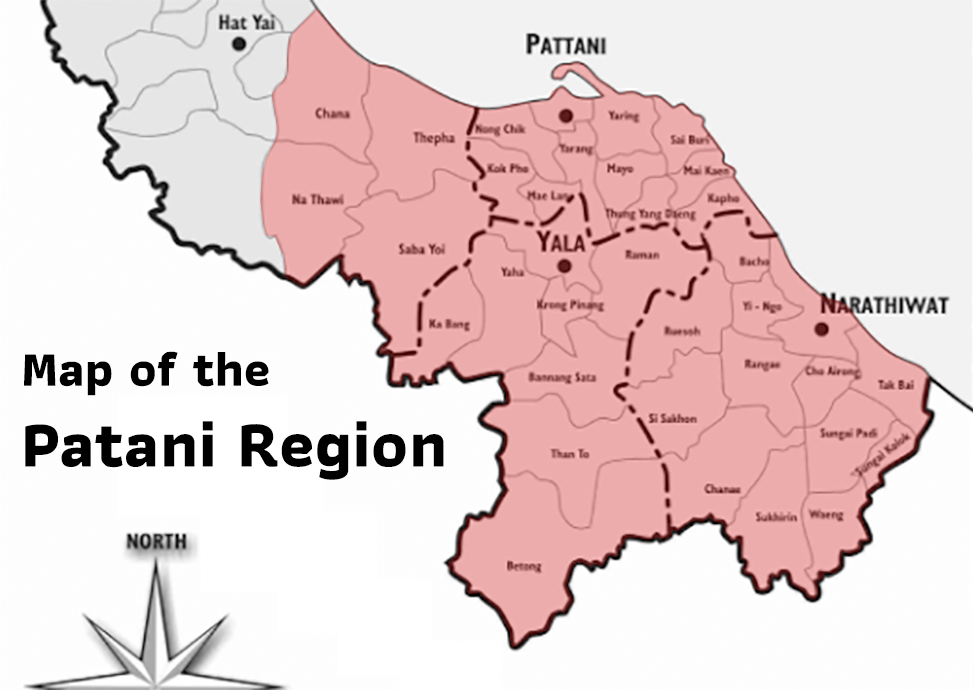 Map of the Patani Region